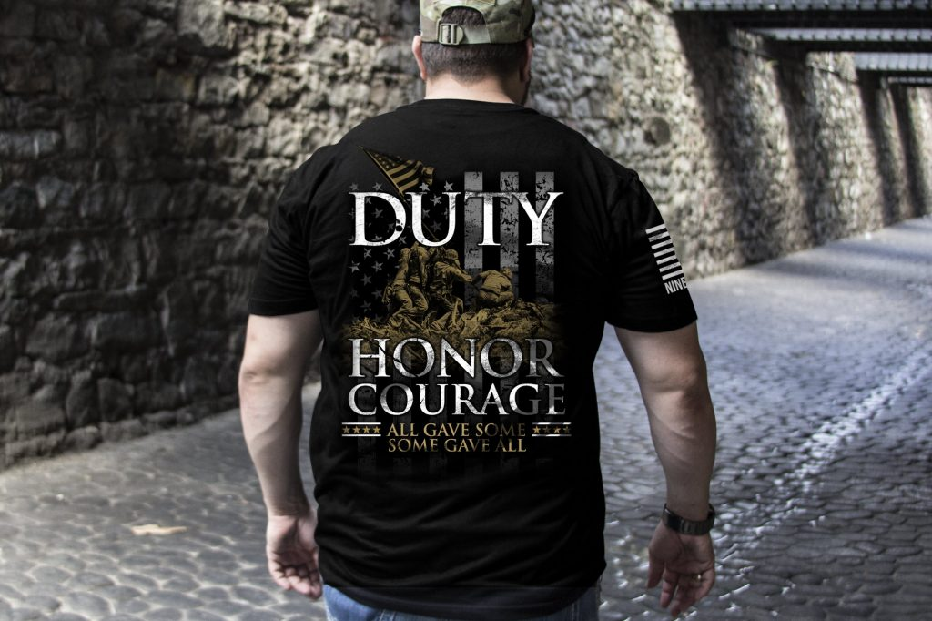 "Nine Line - AHC Collaborative Design - ""Duty, Honor, Courage"""